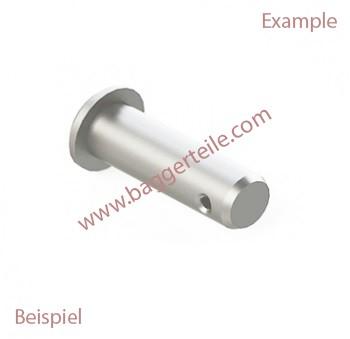 0218608010 Bolzen M. Einst. 35X200 unter anderem passend für Terex Schaeff