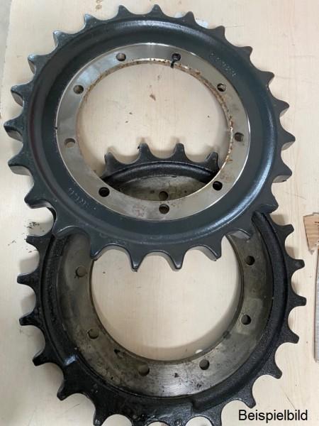 Kettenantriebsrad/Turas, gebraucht, z.B für Hitachi EX35-1, Gehl MB280, Takeuchi TB035, Case CK36 un